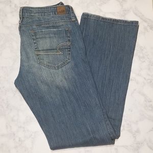American Eagle distressed jeans/denim